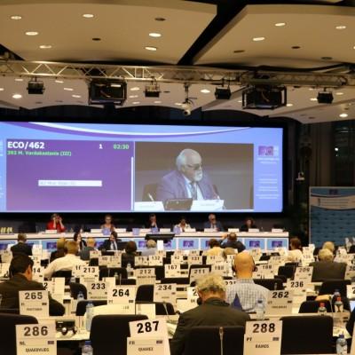 Ο Ι. Βαρδακαστάνης για την πολιτική συνοχής στο Ευρωκοινοβούλιο