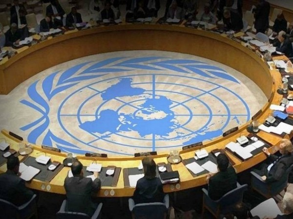 Στιγμιότυπο από συνεδρίαση επιτροπής του ΟΗΕ
